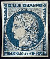 ** No 4a, Bleu Foncé, Superbe. - RR - 1849-1850 Cérès