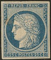 * No 4a, Large Charnière Mais TB. - R - 1849-1850 Cérès