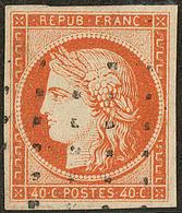 No 5, Obl Gros Points. - TB - 1849-1850 Cérès