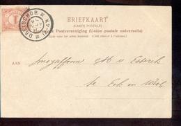 Dreischor Grootrond - 1904 - Postal History