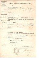 Etrépagny Eure 8 Documents Anciens Divers - Unclassified