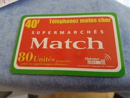 Rare Telecarte Prépayée 40 Francs  Outremer Télécom - France