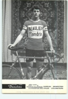 Julien VERMOTE  . 2 Scans. Beaulieu Flandria 1972 - Cycling