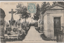 CPA SUIPPES 51 LE CIMETIERE - France