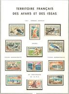 ** AFARS ET ISSAS. Collection. 1967-1977 (Poste, PA, Taxe), Complète, + Comores *. - TB - Afars Et Issas (1967-1977)