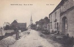 SOUVANS  ROUTE DE DOLE - Francia