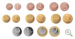 Belarus UNC Full Circulating Coins Set 8 2016 New Free Shipping - Belarus