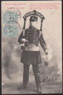 CPA - (Métiers) Nos Bons Agents - L'Agent Crachoir - Police - Gendarmerie