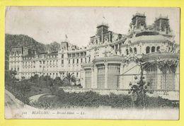 * Beaulieu Sur Mer (Dép 06 - Alpes Maritimes - France) * (LL, Nr 322) Bristol Hotel, Entrée, Façade, Old, CPA, Unique - Beaulieu-sur-Mer