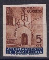 España 1936. Barcelona. Ed 13s. Variedad. Sin Numero. MNG. *. - Barcelona