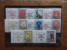ROMANIA 1957 - Flora Dei Carpazi Nn. 1647/54 Nuovi ** Con Appendice + Spese Postali - Unused Stamps