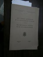Congo 1937 : Les Parcs Nationaux Et La .../De Nationale Parken En ... - Livres, BD, Revues