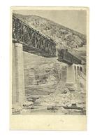 AK Salcano Brücke - Isonzo - WK1 - Slovénie