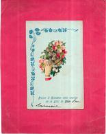 CPA COLORISEE FETE Carte En Relief   - Puisse Le Bonheur Vous Sourire En Ce Jour De Fête  - VIP - - Compleanni