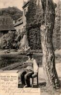 Gruß Aus Bozen - Runkelstein Hof Mit Sarner Toni (4145) * 10. 10. 1904 - Bolzano (Bozen)