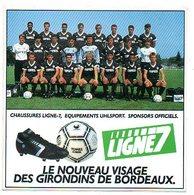 Sticker Autocollant Girondins De Bordeaux  Aufkleber Fussball Football Foot Voetbal Reclame - Stickers