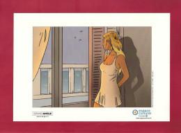 BD.     Jim & Chabane.    Helena.    Grand Angle Pour Bamboo Edition. - Original Drawings