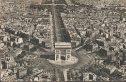 C. P. A - PARIS PAR AIR FRANCE - GREFF - 1954 - Arc De Triomphe