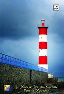 Set 6 Cartes Postales, Phares, Lighthouses Of Europe, France, Port-la-Nouvelle, Le Phare De Port-la-Nouvelle - Leuchttürme