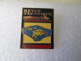 PIN'S  REVUE  TECHNIQUE  AUTOMOBILE   E T A I   Email Grand Feu - Pin
