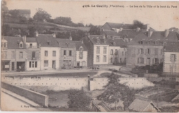 Cpa LA GACILLY - Le Bas De La Ville Et Le Bout Du Pont - La Gacilly