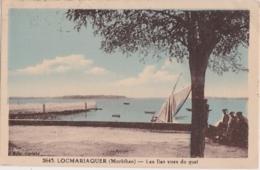 Cpa LOCMARIAQUER - Les Iles Vues Du Quai - Locmariaquer