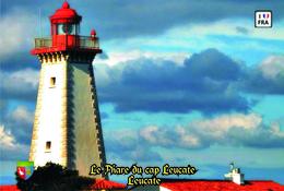 Set 6 Cartes Postales, Phares, Lighthouses Of Europe, France, Leucate, Le Phare Du Cap Leucate - Leuchttürme