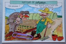 Histoire De Jardinier : ça Pousse, Oui, Quand Vous N'avez Pas Les Pieds Dessus .... - Cultures