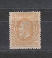 COB 33 * Neuf Avec Charnière Cote 110€ - 1869-1883 Leopoldo II