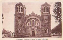 Loire Atlantique        820         Paimboeuf.Façade De L'église Saint Louis - Paimboeuf