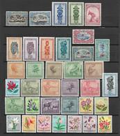 Belgian Congo & Ruanda-Urundi, Lot Of Different Stamps MH/MNH - Congo Belga