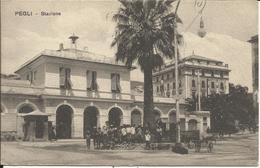 * GENES , GENOA , PEGLI , Stazione , CPA ANIMEE - Genova (Genoa)