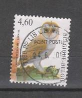 COB 3983 Oblitéré Cachet Rond Central Chouette - 1985-.. Vogels (Buzin)