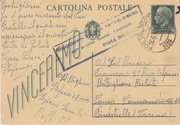 MILITARI -C - CARTOLINA POSTALE - VINCEREMO - Oorlog 1939-45