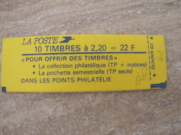 CARNET LIBERTE N° 2376-C5b ** - Carnets