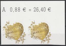 Année 2019 - N° 1669 Et 1670 - Saint-Valentin - Coeurs De Boucheron - 0,88 Et 1,76 X 2 - Adhésifs (autocollants)