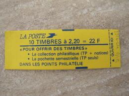 RARE CARNET LIBERTE N° 2376-C5a **  SANS PHOSPHORE - Definitives