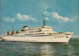 D-23570 Lübeck - Travemünde - Linie G.m.b.H. - M/S Nils Holgersson - Fähre - Ferry ( Vor 1972) - Lübeck