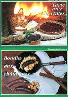 Recettes De Cuisine : Lot De 12 Cartes De Recettes De La Cuisine Des Cantous - Küchenrezepte