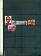 ZAMBIA ARTISANAT 4 VAL NEUFS A PARTIR DE 0.60 EUROS - Zambia (1965-...)