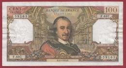 """100 Francs """"Corneille"""" Du 04/01/1973.R----F/TTB+---ALPH. F.697 - 1962-1997 ''Francs''"""