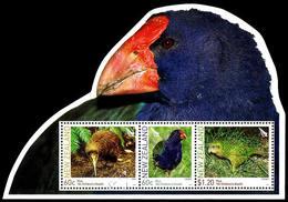 Nuova Zelanda / New Zealand 2011: Foglietto Uccelli / Birds S/S ** - Blocks & Sheetlets