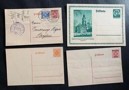 9800 - Lot De 8 Entiers Postaux - Allemagne