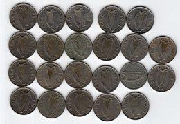 Irlande / Eire - Lot De 22 Monnaies 5P - Ireland