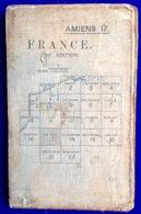 GB WAR OFFICE CARTE D ETAT MAJOR ©1916 AMIENS PERONNE ROYE NESLE AILLY-SUR-NOYE MONTDIDIER BRETEUIL Guerre WW1 WO1 S856 - Guerra 1914-18