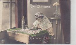 Die Wahrsagerin - Sie Haben Glück In Der Liebe - 1912        (A-159-190721) - Autres