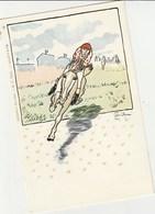 Course Hippique Par CARAN  D ACHE   Mint - Horses
