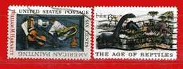 (Us2) USA °- 1970 - Museum D'Istoire Naturellevà New York . Yvert . 892-893.  USED. - Stati Uniti