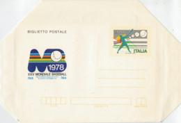 BIGLIETTO  POSTALE     XXV  MONDIALE  BASEBALL   1978      (NUOV0) - 6. 1946-.. Repubblica
