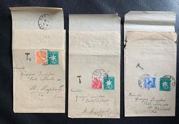 9805 - 3 Bandes Pour Journaux Basel 1941 Pour St-Raphaël - Interi Postali